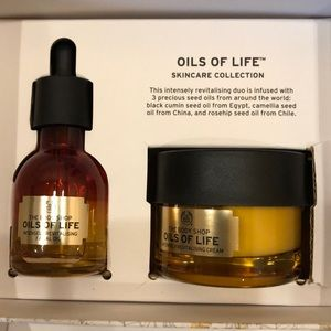 The body shop oil of life gift set